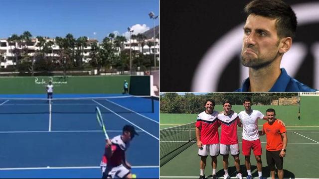 El willy de Davidovich que dejó sin palabras a Djokovic: ¡Qué buena macho!