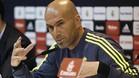 Zidane compare ante los medios de comunicación