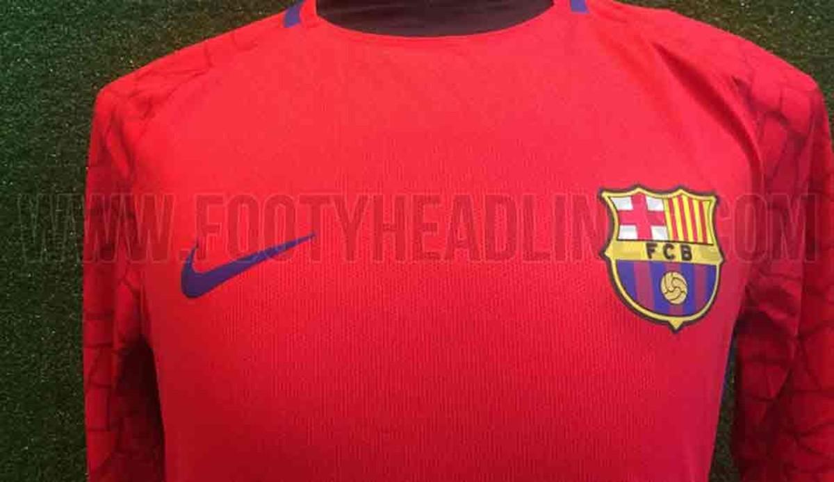 La camiseta de portero del FC Barcelona 2017   2018 24c807b590003