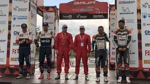 El podio de la Baja Aragón 2018