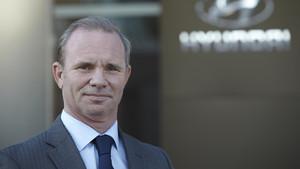 Polo Satrústegui, director general de Hyundai España.