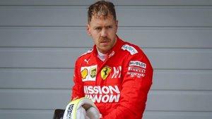 Vettel ha perdido su eterna sonrisa
