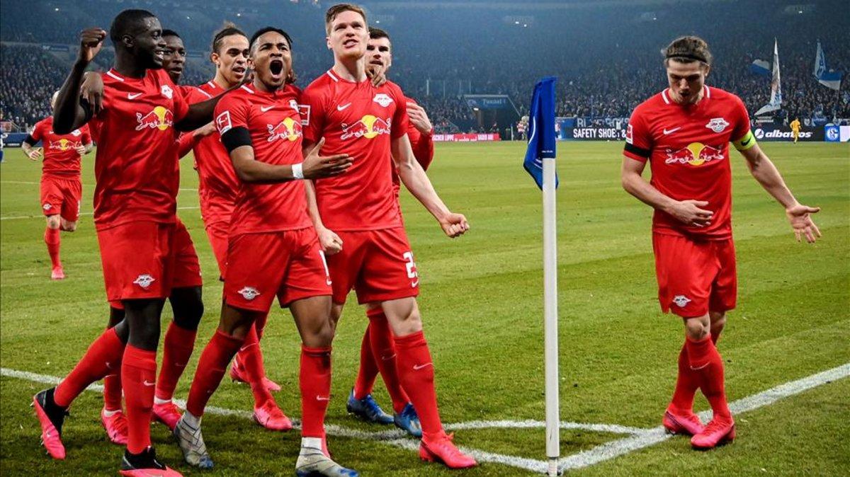 El Leipzig se exhibe ante el Schalke (0-5)