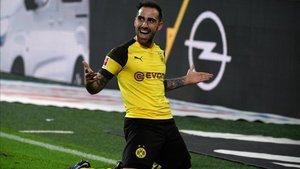 Alcácer sigue marcando en la Bundesliga