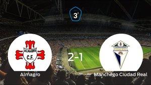 El Almagro consigue la victoria en casa frente al Ciudad Real (2-1)