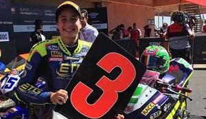 Ana Carrasco ganó la prueba de Portimao