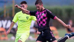 El Andorra sorprendió al Sabadell
