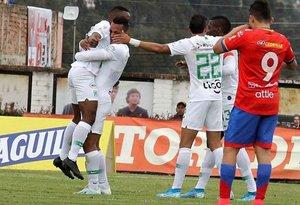 Atlético Nacional y Pasto eran los mejores dos equipos del fútbol colombiano