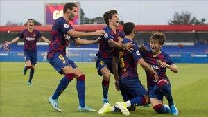 El Barça B buscará su segundo triunfo en casa ante el Orihuela