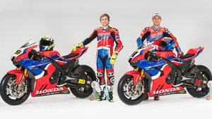 Bautista y Haslam, con las nuevas Honda del Mundial de Superbike