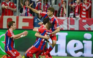 El Bayern dio un auténtico recital ofensivo