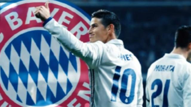 El Bayern, a por James Rodríguez según Caracol Televisión