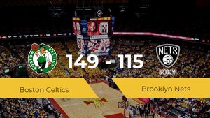 Boston Celtics gana a Brooklyn Nets (149-115)