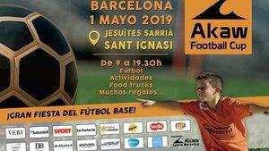 Cartel de la I edición del Akaw Football Cup