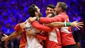 Croacia es la actual campeona de la Copa Davis