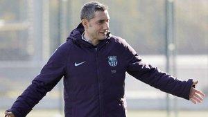 Ernesto Valverde cuenta con la confianza de su presidente