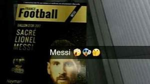Esta es la supuesta portada de France Football