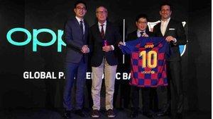 Al finalizar el nuevo contrato, el Barça y OPPO llevaran juntos 8 años
