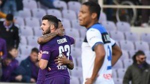 La Fiorentina derrotó al Atalanta en la Coppa Italia por 2-1