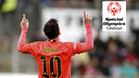 La Fundación Privada Leo Messi y Special Olympics Catalunya han llegado a un acuerdo