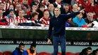 Garitano, en el banquillo del Athletic en el duelo anteel Granada