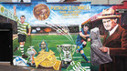 Un gran mural para Patrick OConnell