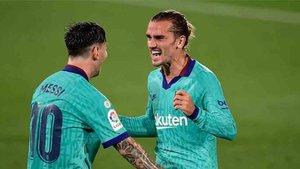 Griezmann se reunió con el Barça y está más traqnuilo