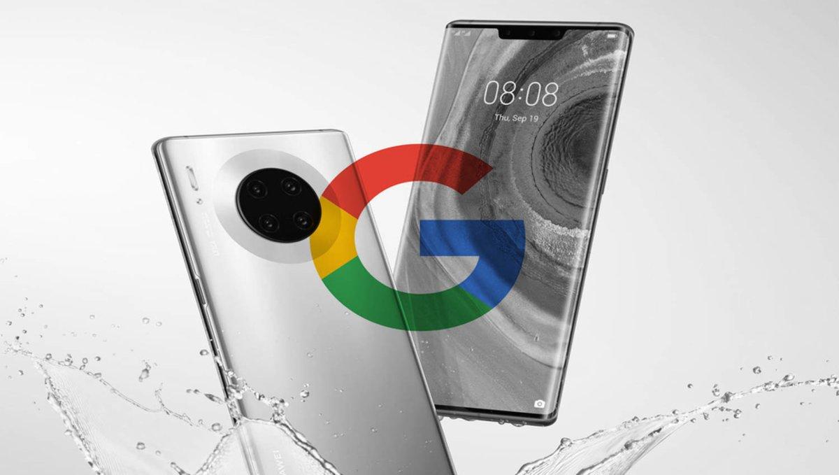 Huawei Mate 30 y Mate 30 Pro no utilizarán los servicios de Google