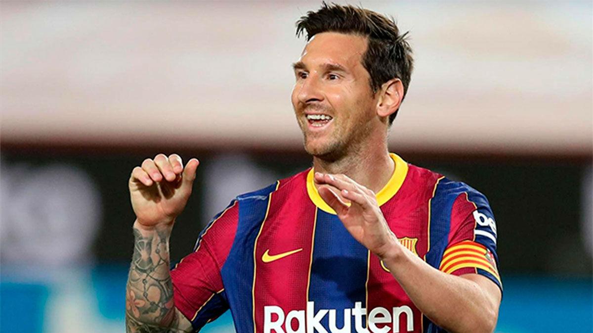 Insúa sobre Messi: No necesita entrenar demasiado