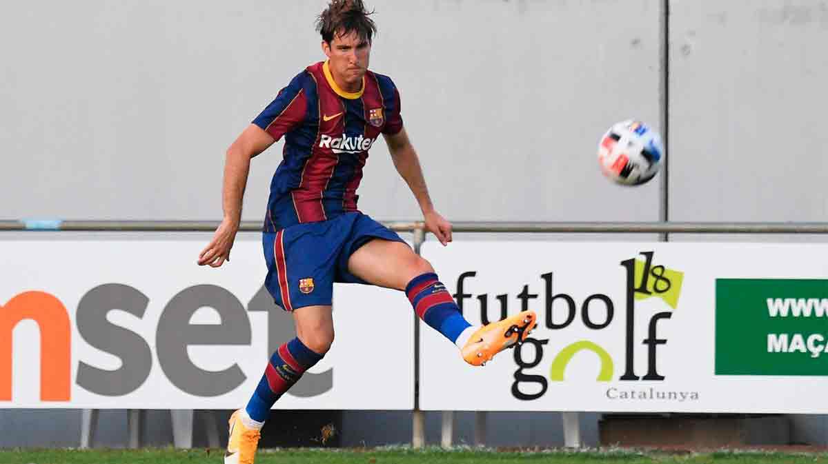 ¿Juan Miranda vale para el primer equipo? Vea el golazo con el Barça B en un amistoso