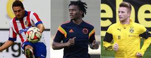 Koke, Cuadrado y Reus son los tres futbolistas deseados