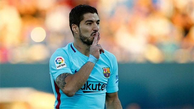 LALIGA | Leganés - FC Barcelona (0-3): El segundo gol de Luis Suárez