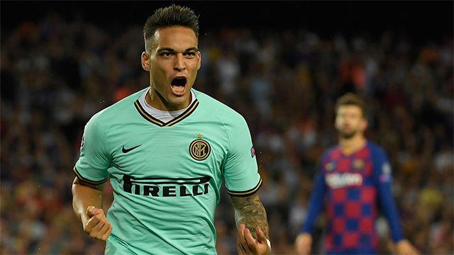 Lautaro sembró las dudas en el Barça con un gol en el minuto dos