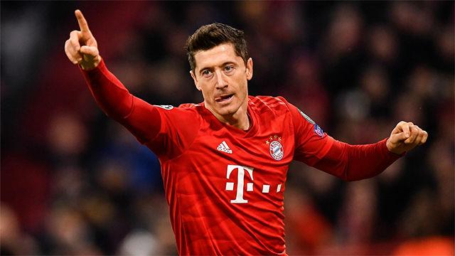Lewandowski volvió a ser el salvador del Bayern