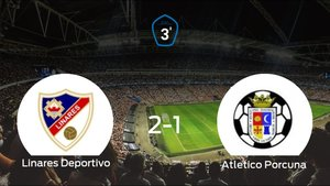 El Linares Deportivo consigue la victoria en casa frente al Atletico Porcuna (2-1)