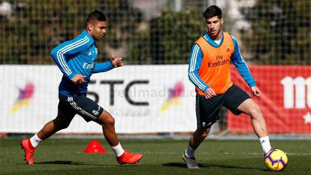 El Madrid comenzó a preparar el partido ante el Girona