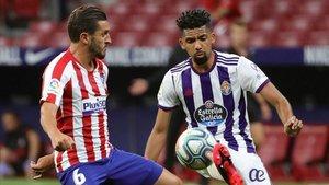 Matheus tuvo un debut esperanzador ante el Atlético