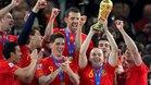 El mayor éxito de la selección fue el Mundial de 2010