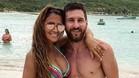 Messi y Antonela disfrutan de las vacaciones