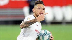Ocampos está a un nivel extraordinario en el Sevilla