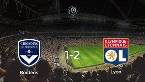 El Olympique Lyon deja sin sumar puntos al FC Girondins Bordeos (1-2)
