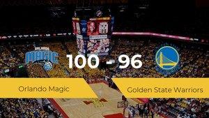 Orlando Magic se lleva la victoria frente a Golden State Warriors por 100-96