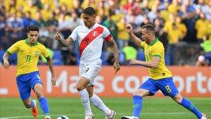 Paolo Guerrero solo ha anotado un gol en lo que va del torneo