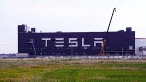 Planta de Tesla en Shanghái, la primera fuera de Estados Unidos.