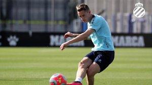Pol Lozano debutará como titular en Liga ante el Barça