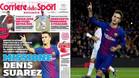 La portada de Il Corriere dello Sport se centra en el azulgrana Denis Suárez