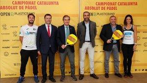 Presentación del Campionat de Catalunya Absolut Open Plasticband