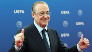 El presidente del Real Madrid habló y hablará de Cristiano Ronaldo