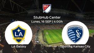 Previa del encuentro de la jornada 37: LA Galaxy - Sporting Kansas City