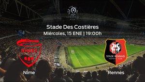 Previa del encuentro: Olimpique de Nimes - Stade Rennes